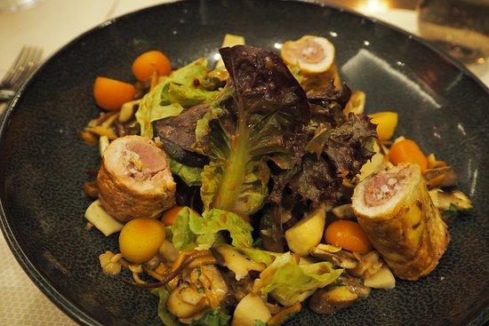 Gasthaus zur Fernsicht: Salat