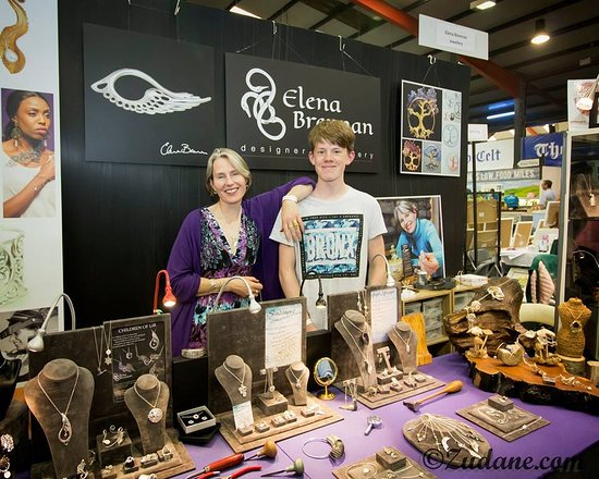 Elena and her son Ciarán at the Taste Of Cavan 2018.
