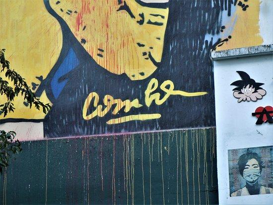 Fresque Tintin et Haddoc