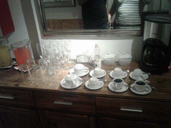 Tremo Hotel Boutique Bellas Artes: Coffe break (o dia inteiro)