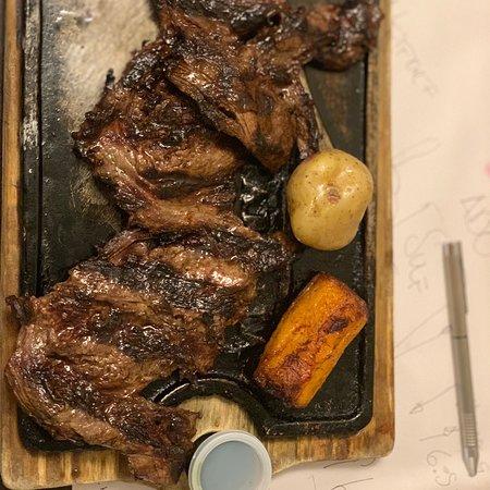 Lenos y Parrilla: Deliciosa cena!