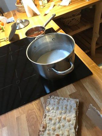 Ellos, Schweden: Matlagning