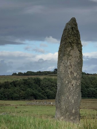 Isle of Jura, UK: Menhir de Tarbert