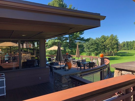 The Outdoor Deck Off The Main Dining Room Picture Of The