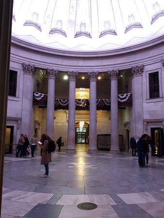 Inside Federal Hall