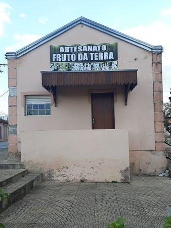 Borda da Mata, MG: Estação usada atualmente como museu e feira de artesanato local.