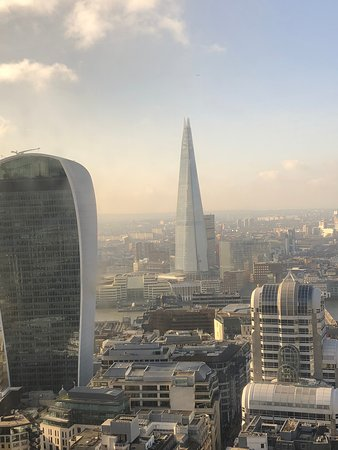 London, UK: The Shard and the Walkie-Talkie buildings.