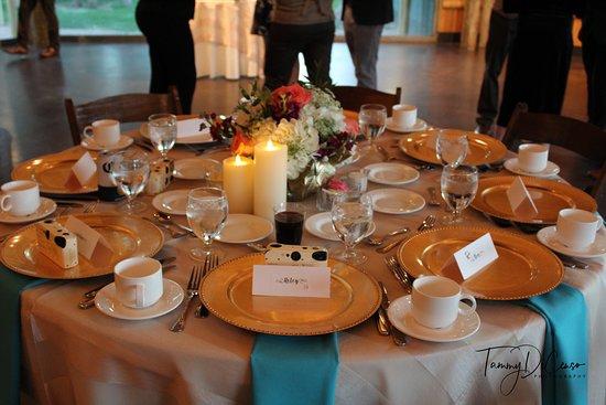 Wedding Reception Held In The Orangutan Hut Picture Of Phoenix Zoo