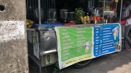 Su-ngai Kolok, Tailandia: A must try lemon soda.