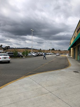 Rowland Heights, Kalifornia: Parking Lot