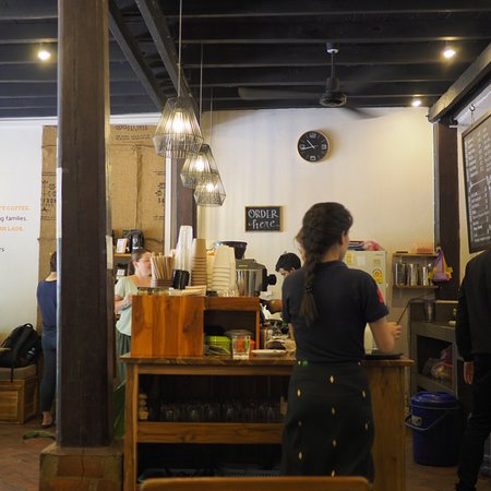Great coffee, good bakery, nice ambient