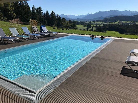 Ruckholz, Germany: Infinity pool.