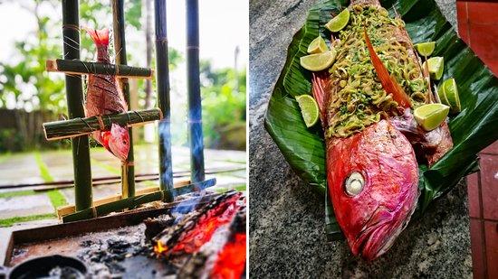 Cobano, Коста-Рика: Sea Food Brasas Del Mar
