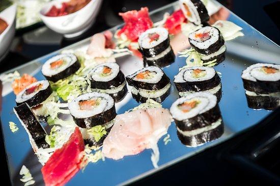 Rondissone, Италия: Buffet evento matrimonio - sushi