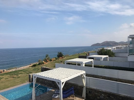 The Rοyal Blue: View from a villa
