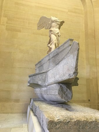 winded victory of samothrace