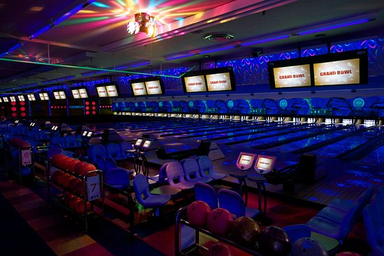 Midori, Japan: The second floor ; Black light , entertainment space