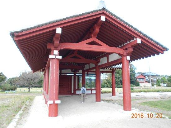 下野市, 栃木県, 薬師寺の復元回廊