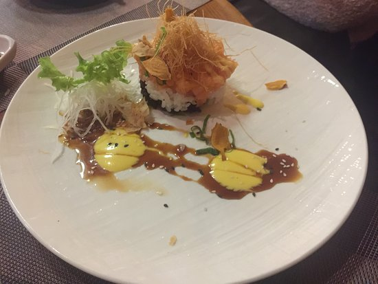 Yu Sushi Restaurant: Ottima presentazione