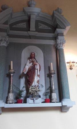 Church of St Nicholas: An altar to Jesus
