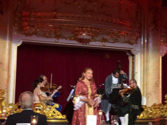 Mozart Concert & Dinner, Prague, Oct 2018