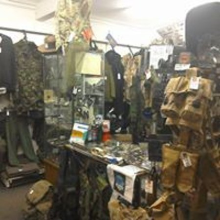 Walk This Way - Military Surplus Store - Picture of Walk This Way