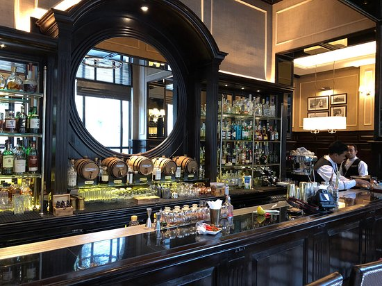 Sarkies Bar at The Strand Hotel