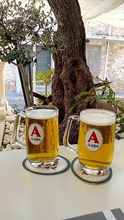 Alana restaurant: два пива по 0,3л