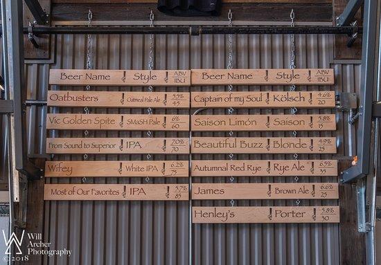 Invictus Brewing Co: Tap List