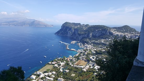 Villa San Michele: La vista mozzafiato su Capri