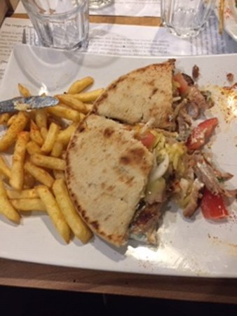 The Hellenic Eatery: Skepasti Club Gyros