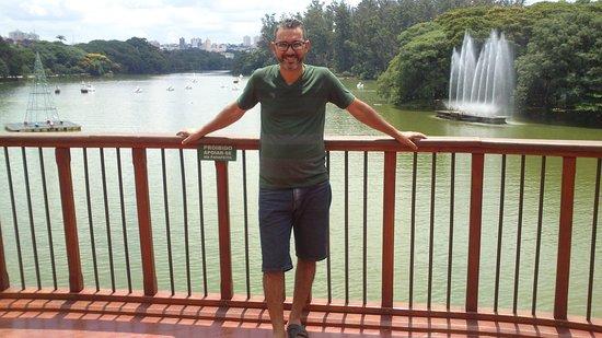 Parque do Taquaral (Parque Portugal): vista do chafariz da caravela