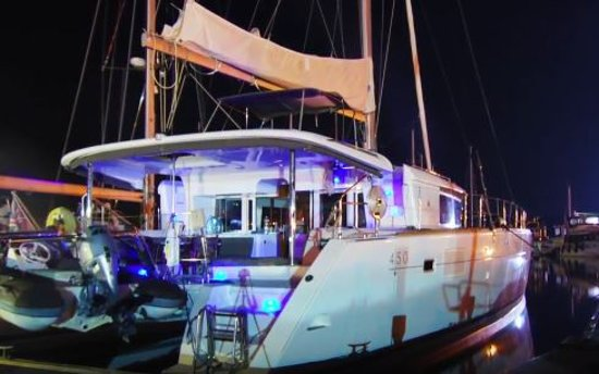 Grebastica, Croacia: Mood lighting for nightime