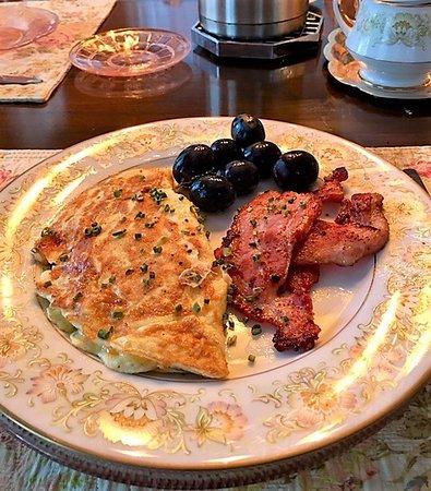 Quincy, FL: Breakfasts were yummy !!