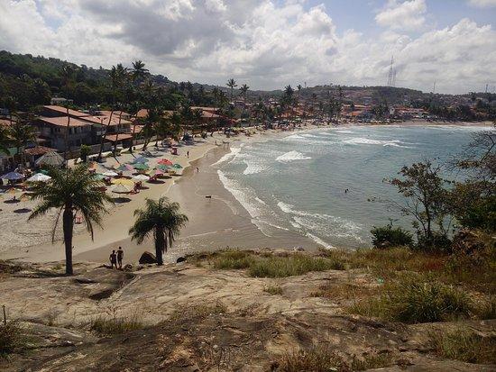 Gaibu Beach: Vista do alto das pedras de Gaibu (litoral sul)
