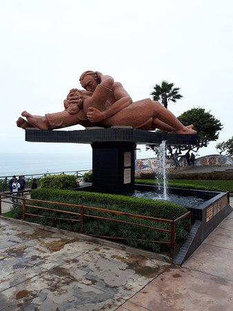 El Parque del Amor: O casal