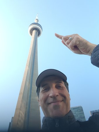 Me and CN tower