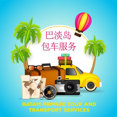 Batam Center, Indonésie : Private Tour Service 巴淡岛包车服务