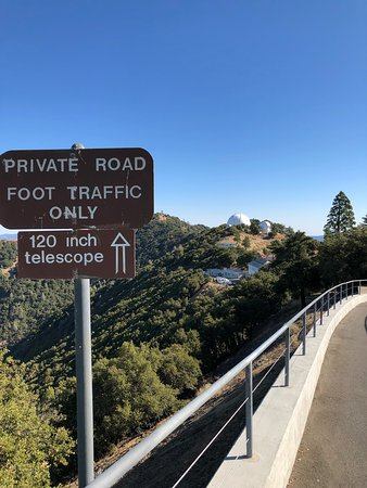 Mount Hamilton, CA: There is more than one Observatory, so look out