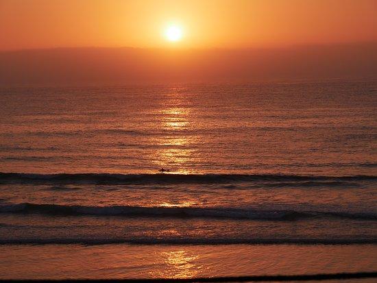 Imsouane, Maroc: Was für ein Sonnenuntergang!