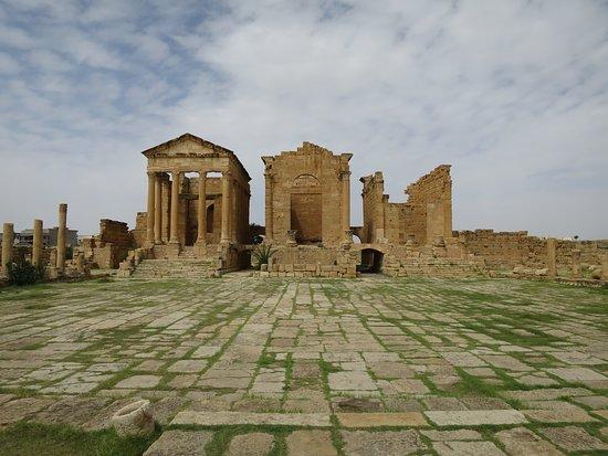 Subaytilah, ตูนิเซีย: Templos Jupiter , Juno y Minerva