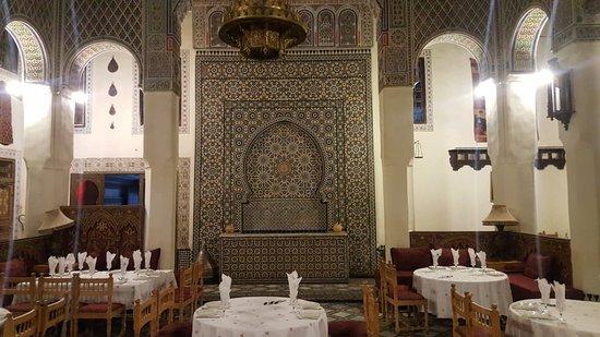 Patio Picture Of Restaurant Marocain Fes Tripadvisor