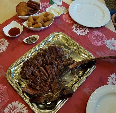 Biedenkopf, Germania: Dry Aged Beef Tomahawk Steak