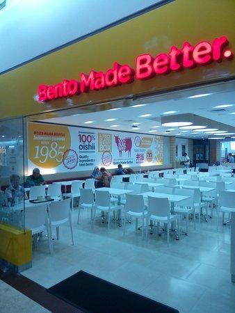 Metropolitan Mall Bekasi: Hoka Hoka Bento, not full, but always has consumers.