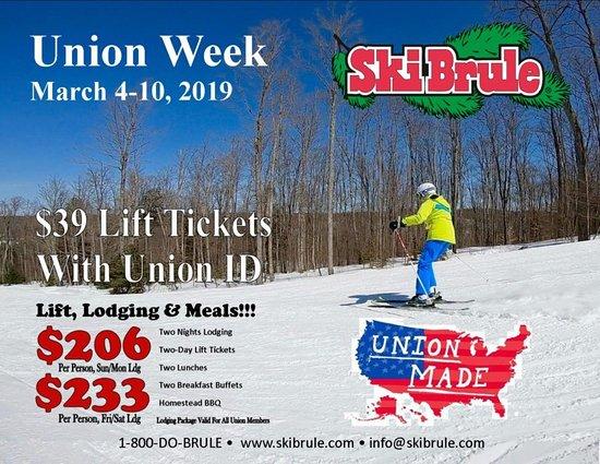 Iron River, MI: Union Week!