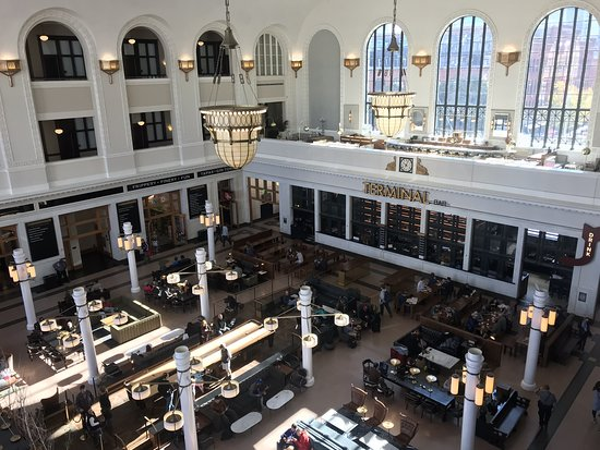 Union Station Or Crawford Hotel Lobby Picture Of The Crawford Hotel Denver Tripadvisor
