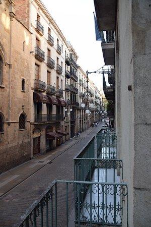 Hostal Fernando: Ausblick aus Zimmer im 2. Stock