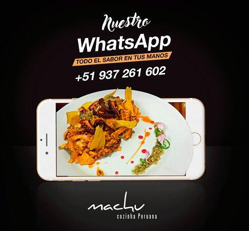 Machu. WhatsApp. Talara Perú.