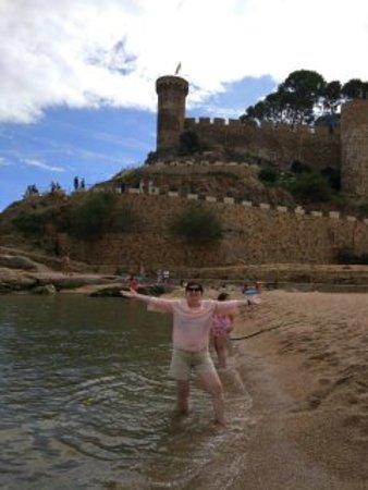 Tossa de Mar, Espanha: Крепость Тосса де мар