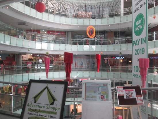 Fun City Mall: The Interior of the Mall